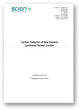 Carbon Footprint of New Zealand Laminated Veneer Lumber